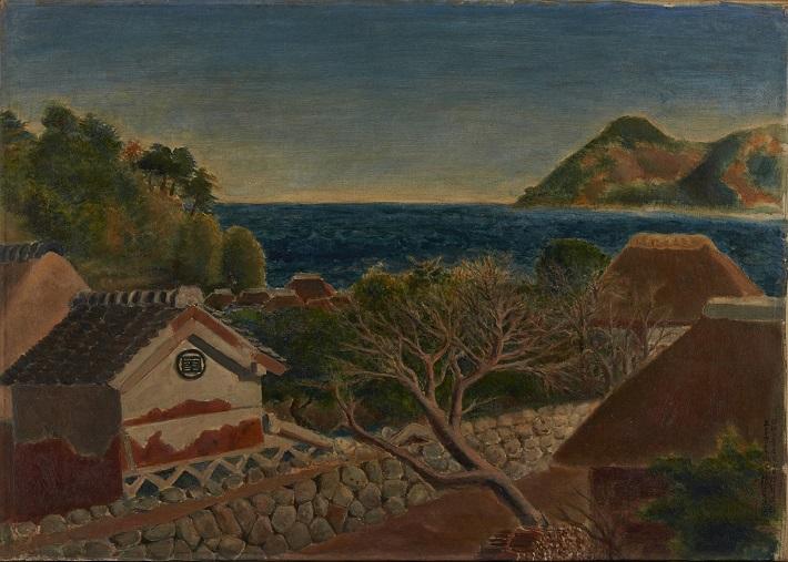 「入江(伊豆風景)」1928(昭和3)年